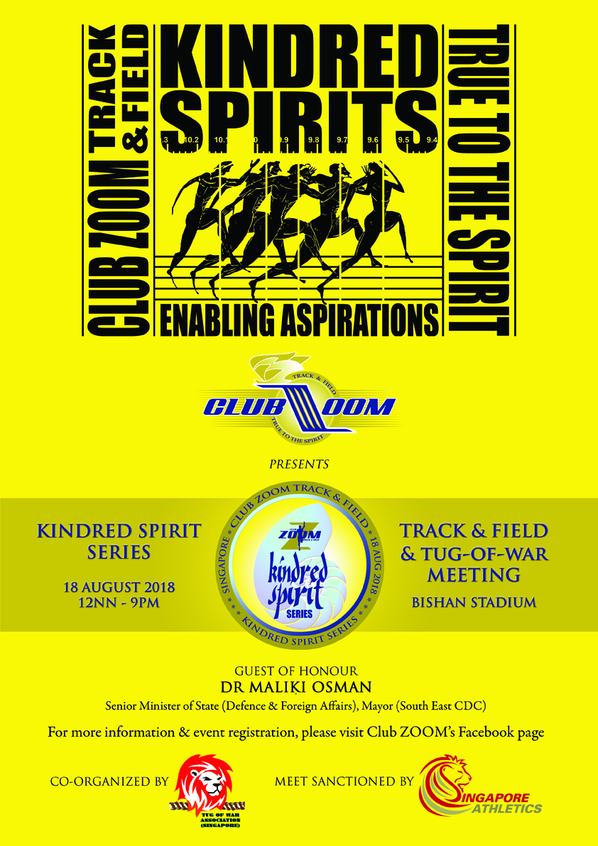 5th Club Zoom Kindred Spirit Series 2018