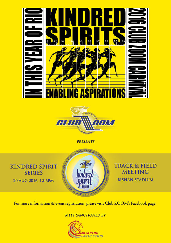 4th Club Zoom Kindred Spirit Series 2016
