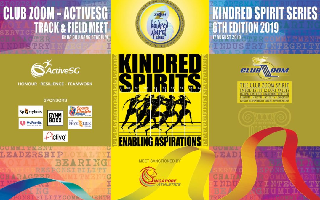 Club ZOOM-ActiveSG 6th Kindred Spirit Track & Field Series 2019